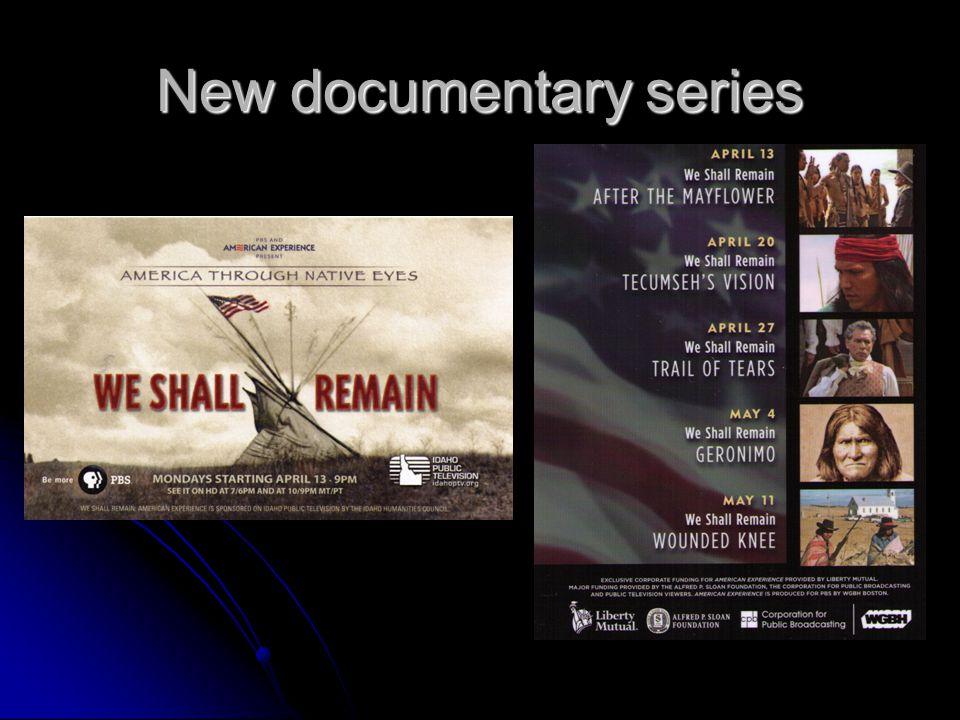 New documentary series