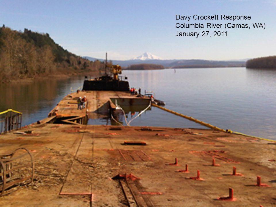 Davy Crockett Response Columbia River (Camas, WA) January 27, 2011