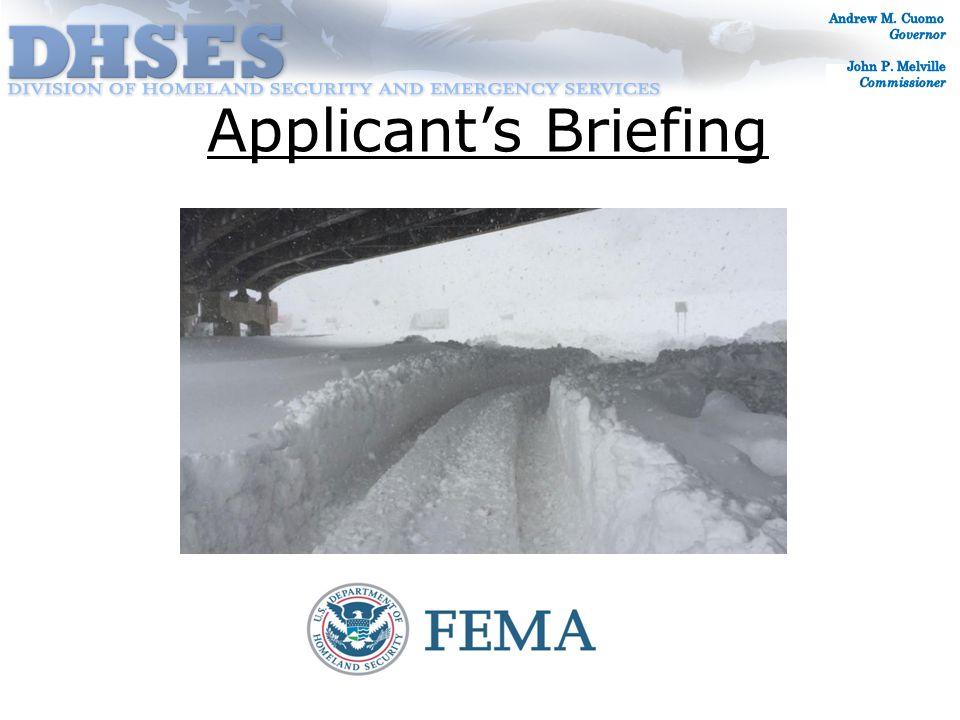FEMA-4204-DR-NY Incident Period November 17-26, 2014 Declaration Date December 22, 2014