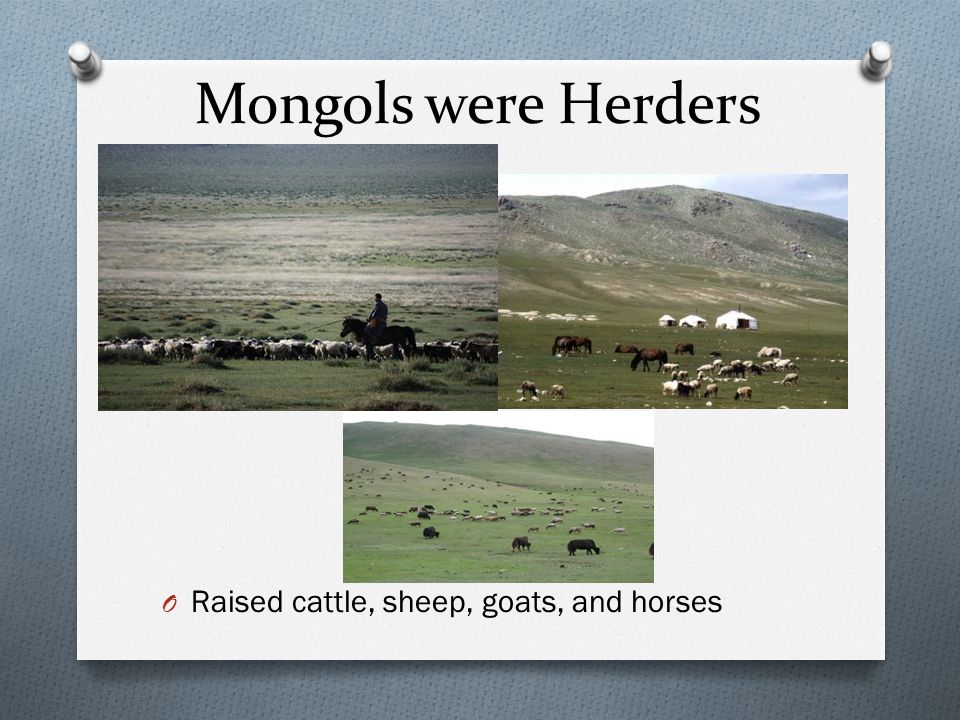 The Mongol Empire O Despite War and destruction the Mongols brought peace and encourage trade.