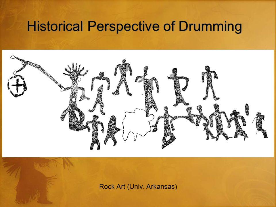 Historical Perspective of Drumming Rock Art (Univ. Arkansas)