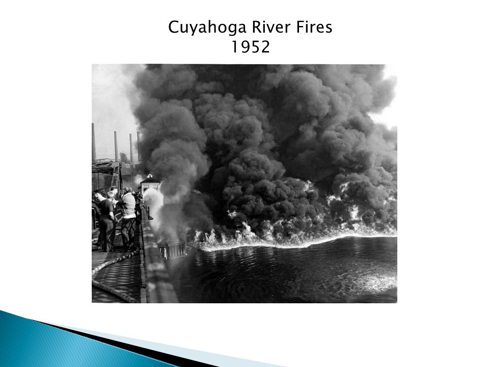 Cuyahoga River Fires 1952