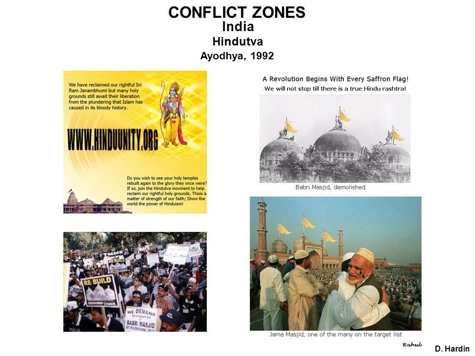 CONFLICT ZONES D. Hardin India Hindutva Ayodhya, 1992
