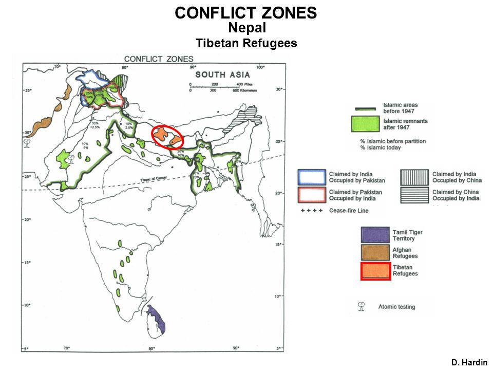 D. Hardin CONFLICT ZONES Nepal Tibetan Refugees