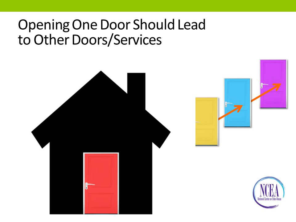 Opening One Door Should Lead to Other Doors/Services