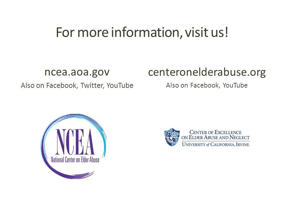 For more information, visit us.