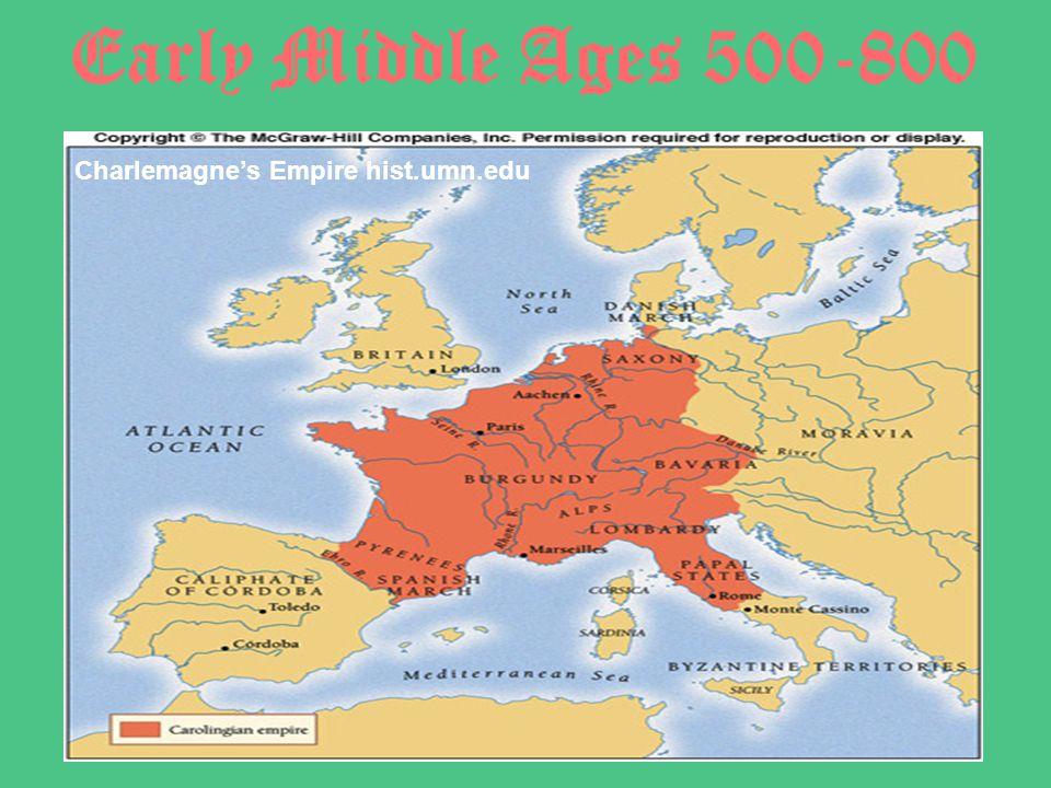 Charlemagne's Empire hist.umn.edu