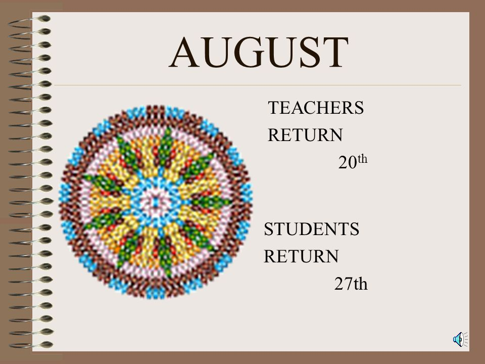 Crow Creek Tribal Schools CalendarFor2001-2002