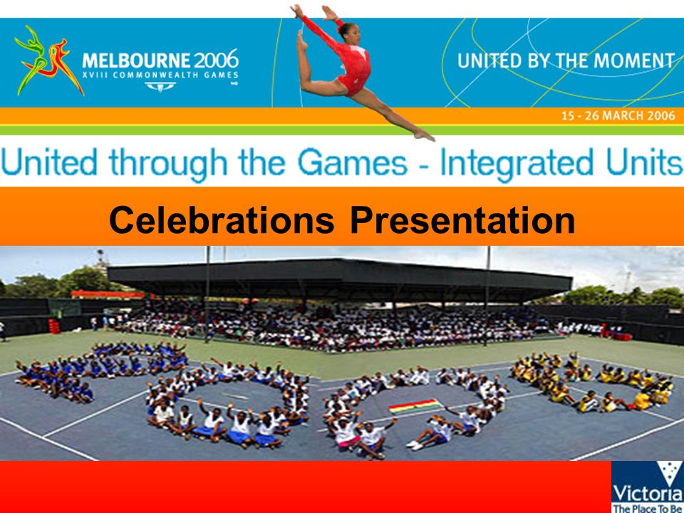 United through the Games - Integrated units © State of Victoria, 2005 What have these pictures in common?