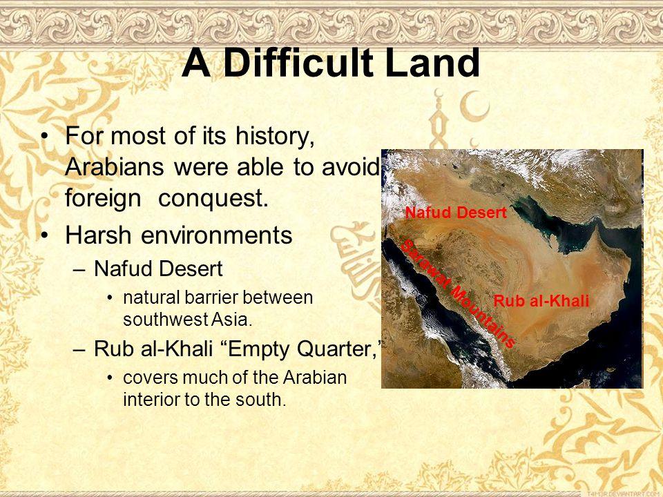 The Rise of Islam Gradually, Muhammad began to win believers.