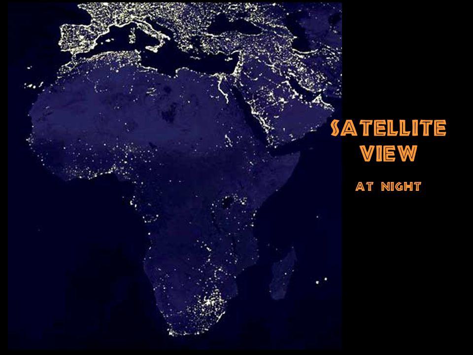Satellite View at night