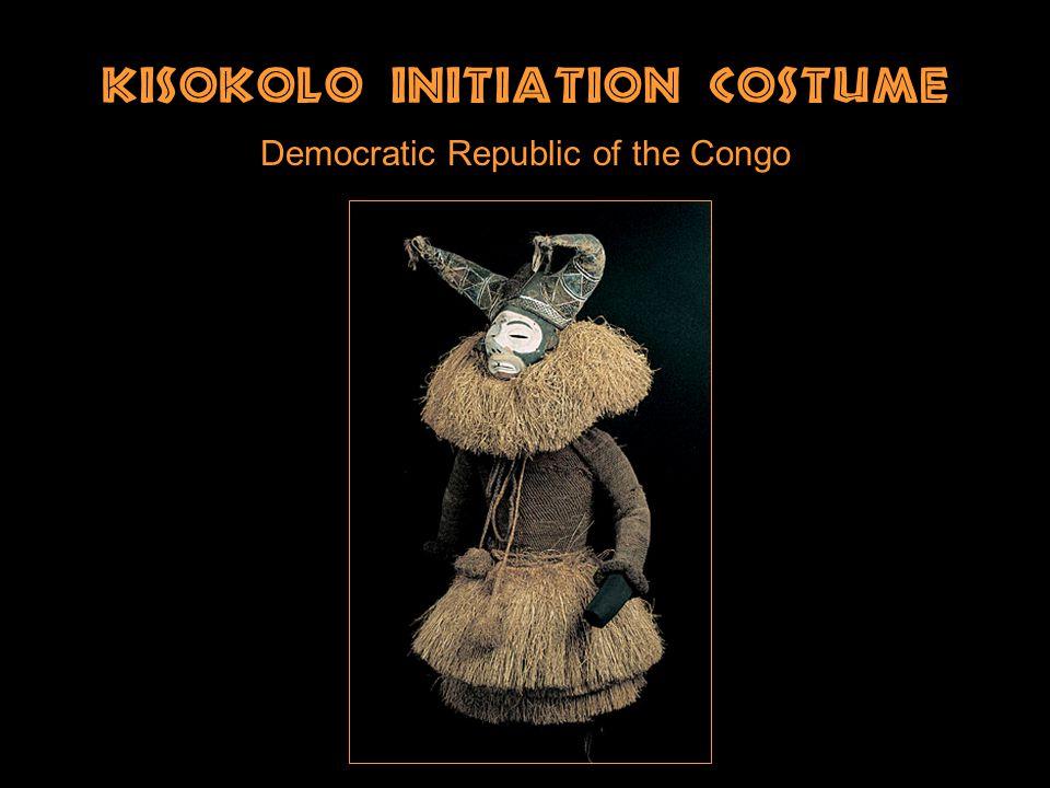Kisokolo Initiation Costume Democratic Republic of the Congo