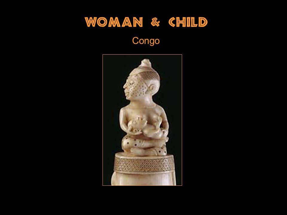 Woman & Child Congo
