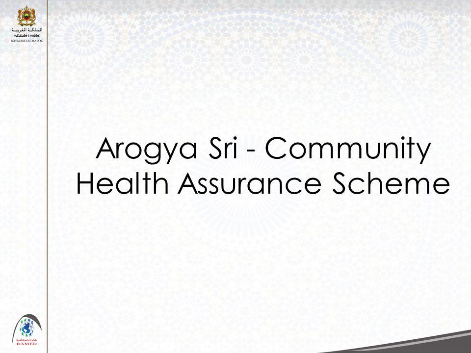 Arogya Sri - Community Health Assurance Scheme