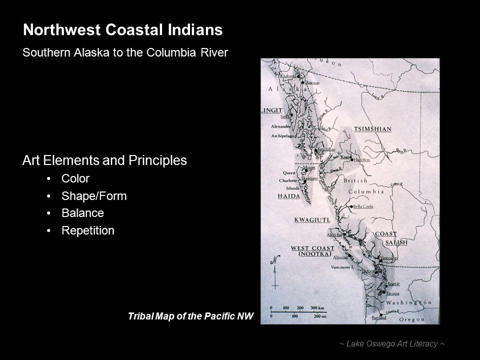 Northwest Coastal Indians Southern Alaska to the Columbia River ~ Lake Oswego Art Literacy ~ Tlingits at a Potlatch 1904 Sitka, Alaska