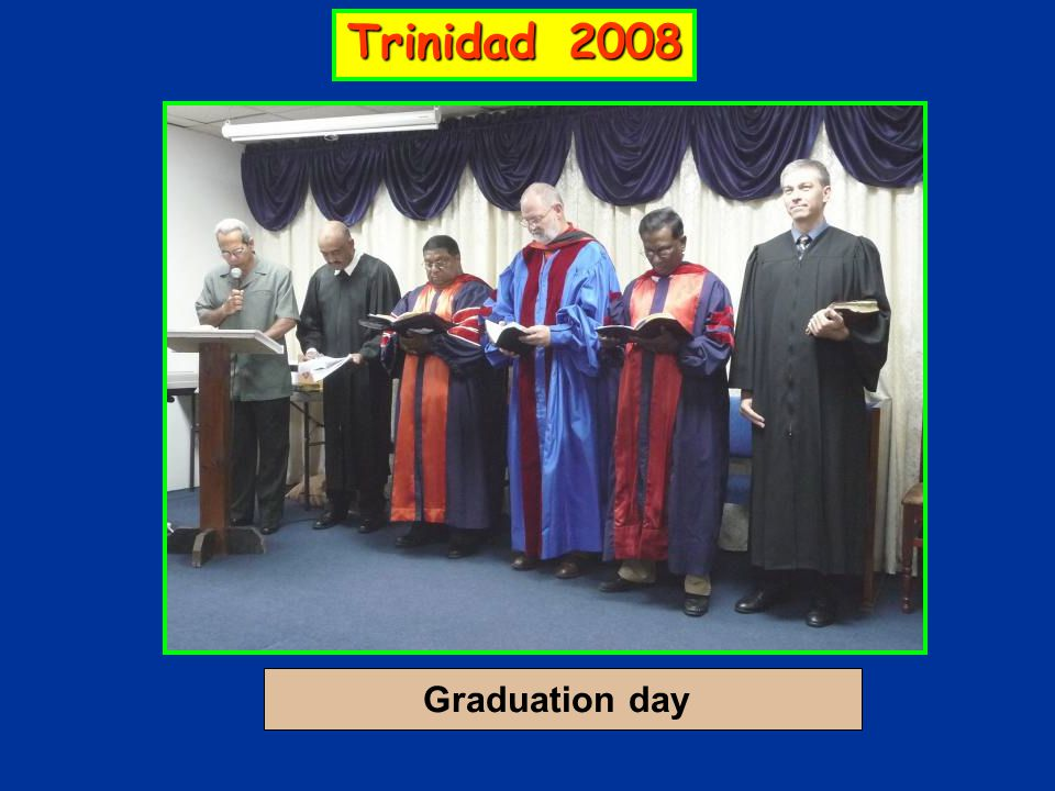 Graduation day Trinidad 2008