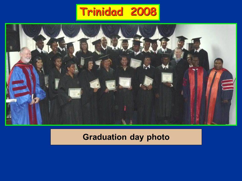 Graduation day photo Trinidad 2008