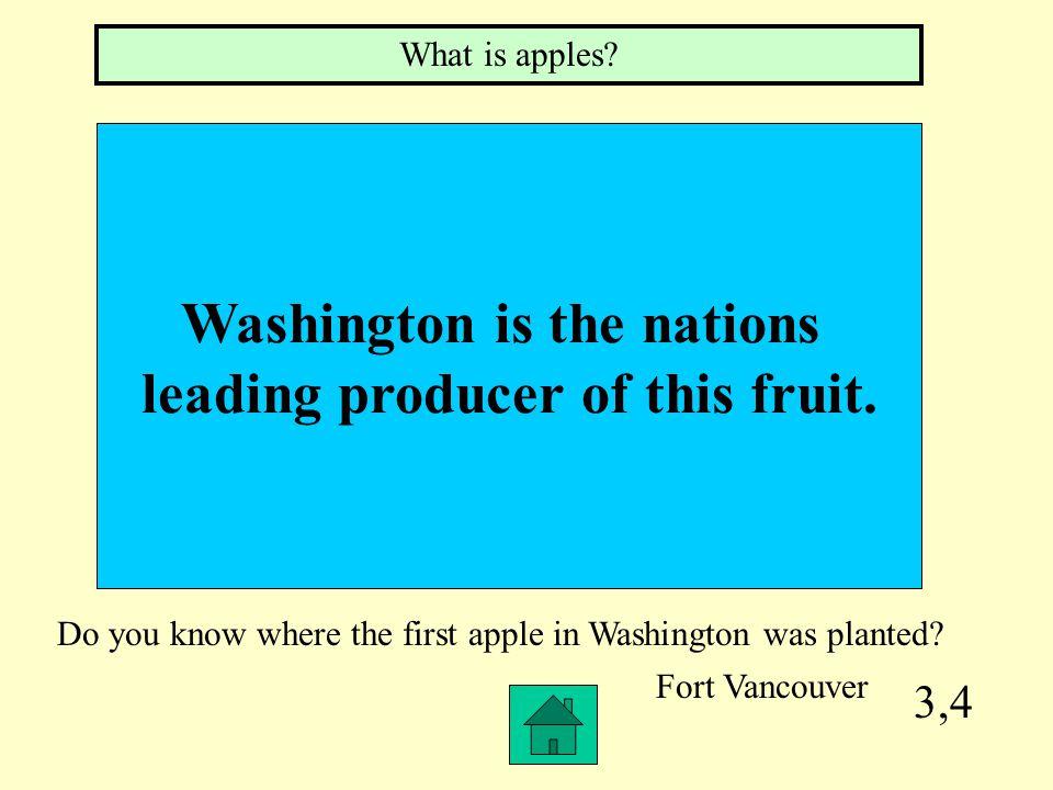 3,3 Washington's 5 Regions What is Coastal, Western Lowland, Cascade Mountain, Okanogan Highland and Columbia Plateau Regions