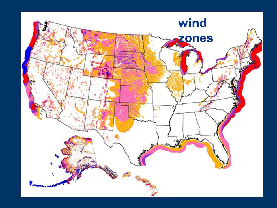 wind zones