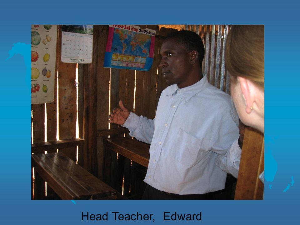 Head Teacher, Edward