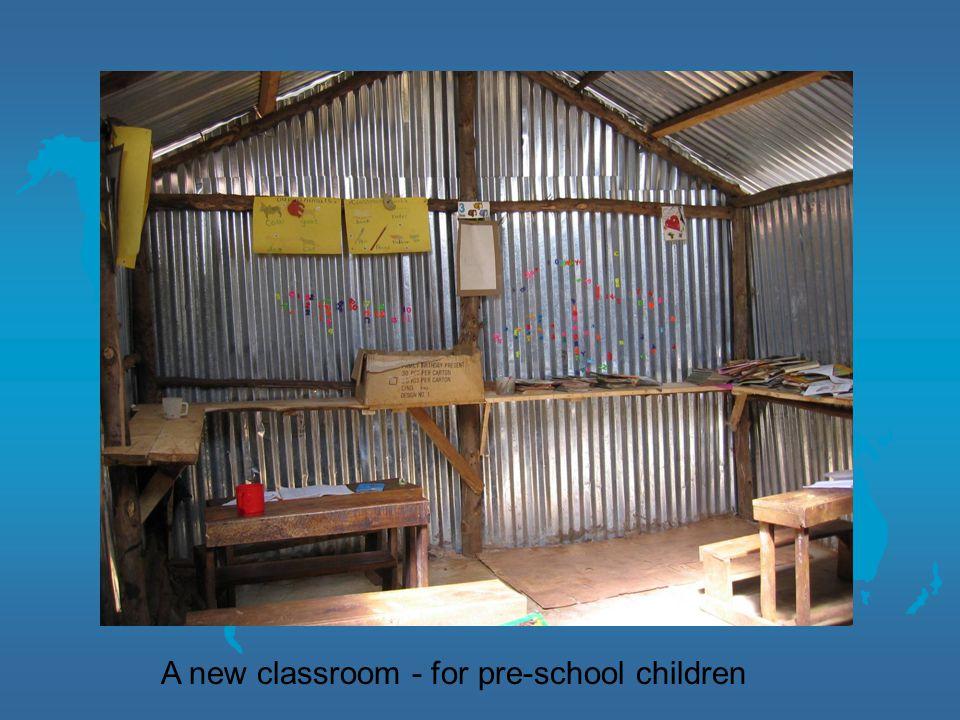 A new classroom - for pre-school children