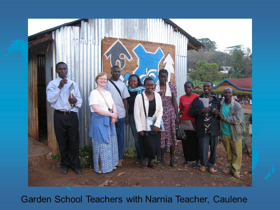 Garden School Teachers with Narnia Teacher, Caulene