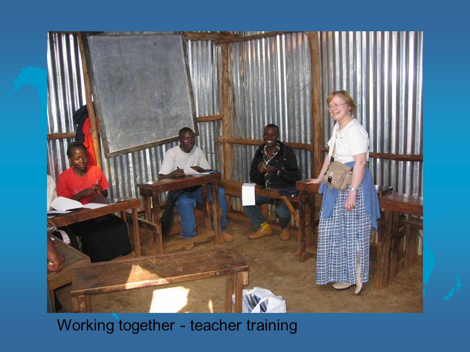 Working together - teacher training