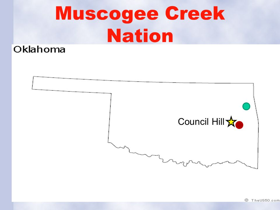 Muscogee Creek Nation Council Hill