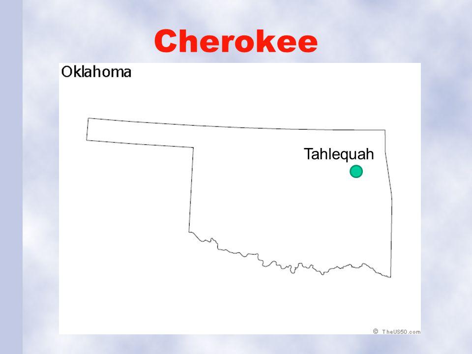 Cherokee Tahlequah