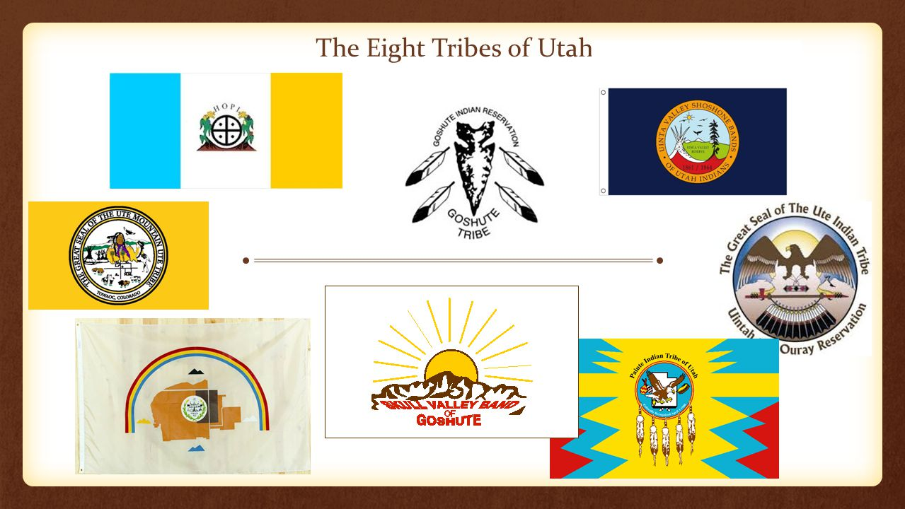 The Eight Tribes of Utah