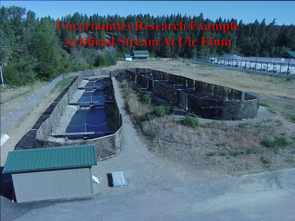 Uncertainties Research Example Artificial Stream At Cle Elum Dd127 long x 7.9 m wideMeabn Dnnepnth 0.4 mDd127 long x 7.9 m wideMeabn Dnnepnth 0.4 m