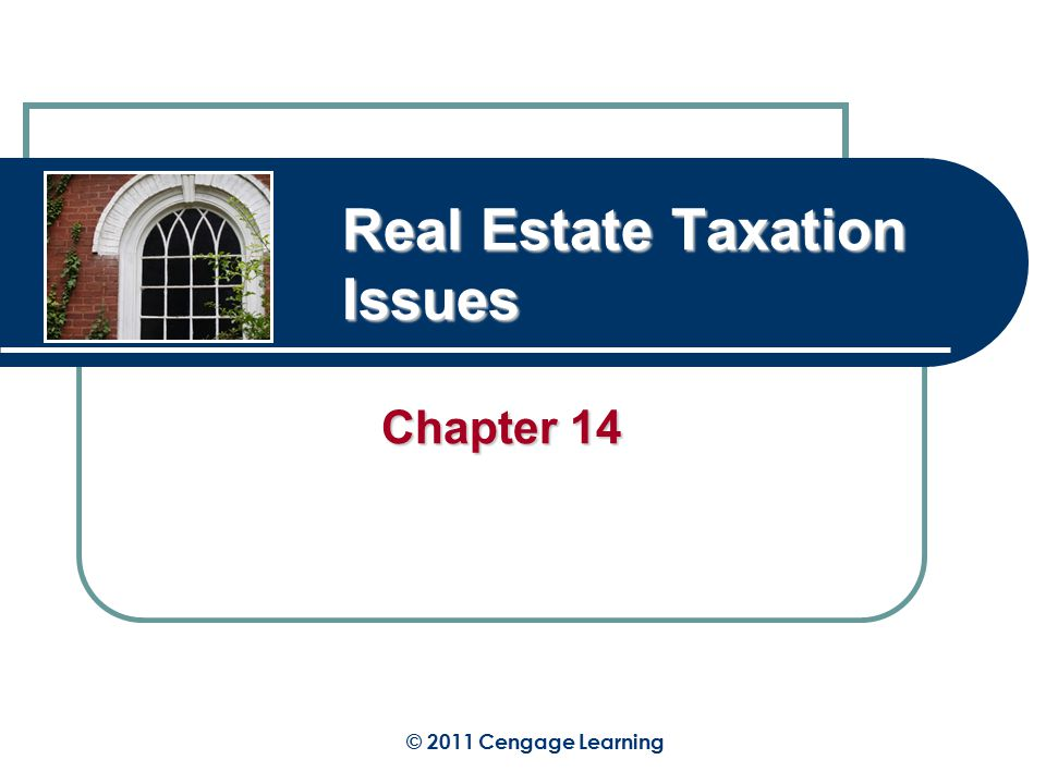 RATIONALE FOR CHAPTER Taxation is present in every part of our society.