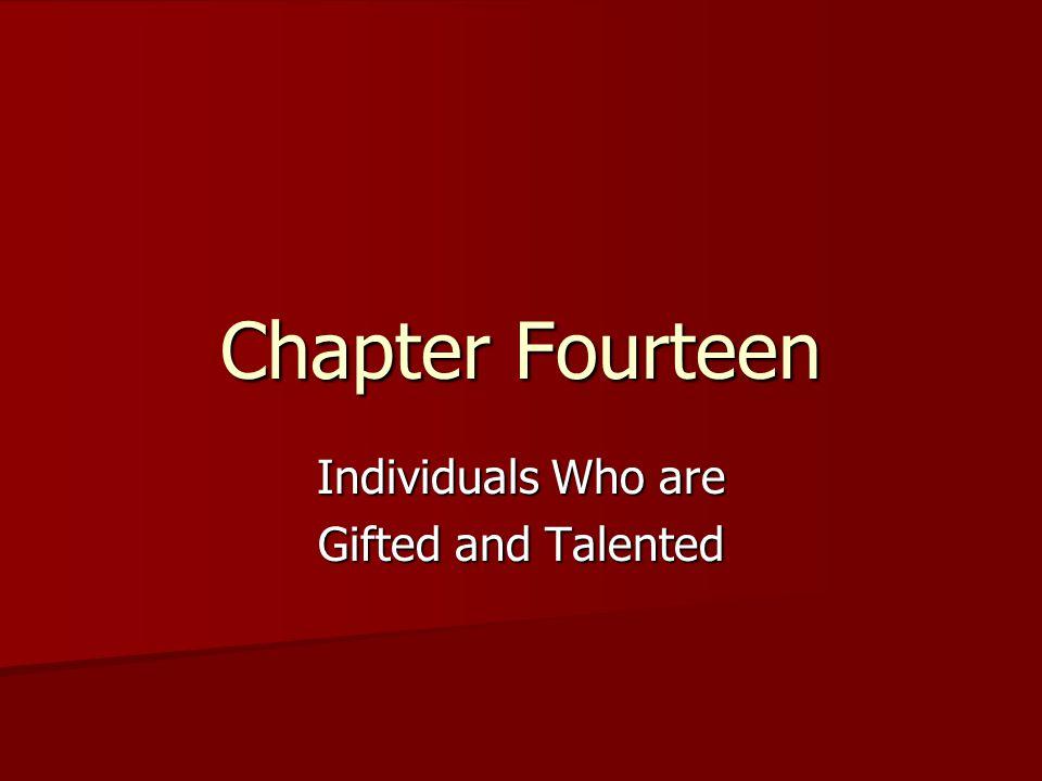 2 Defining Giftedness