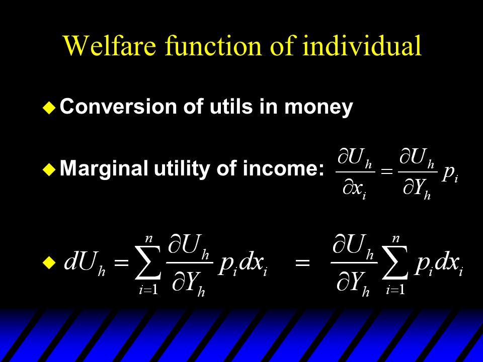 Equivalent Variation x2x2 x1x1 u1u1 u2u2 p1=p1'p1=p1 p1=p1'p1=p1 p 2 is fixed. EV = m 1 - m 2.