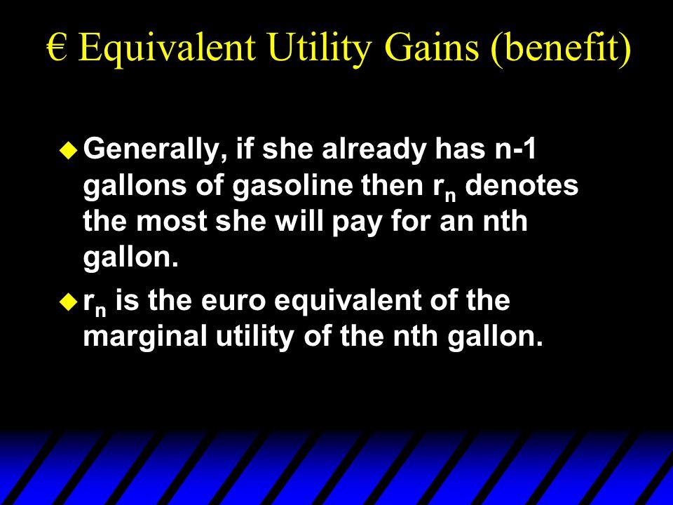 So when the consumer has quasilinear utility, CV = EV =  CS.