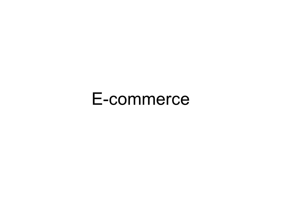 Overview of E-commerce Definition: Electronic Commerce (EC) describes the process of buying, selling, transferring, or exchanging products, services, and information using computer network and the Internet.