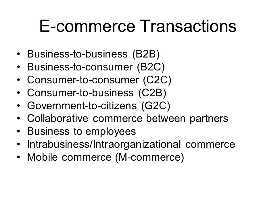Scope of E-commerce Applications supported by infrastructure –Hardware –Software Messaging, multimedia, interfaces, business services –Networks communications Support areas –People –Legal and public policy and regulations –Marketing and advertisements –Support services ranging from payments to order delivery –Business partnerships like joint ventures, e-marketplaces, affiliations