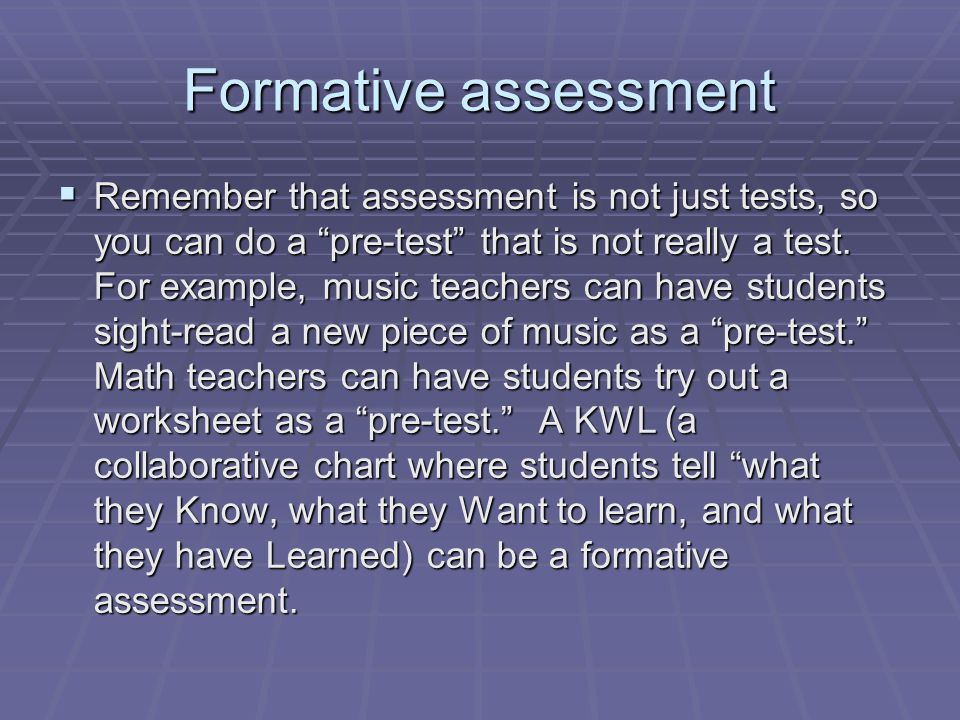 Technology and authentic assessment  Technology holds great promise for authentic assessment.