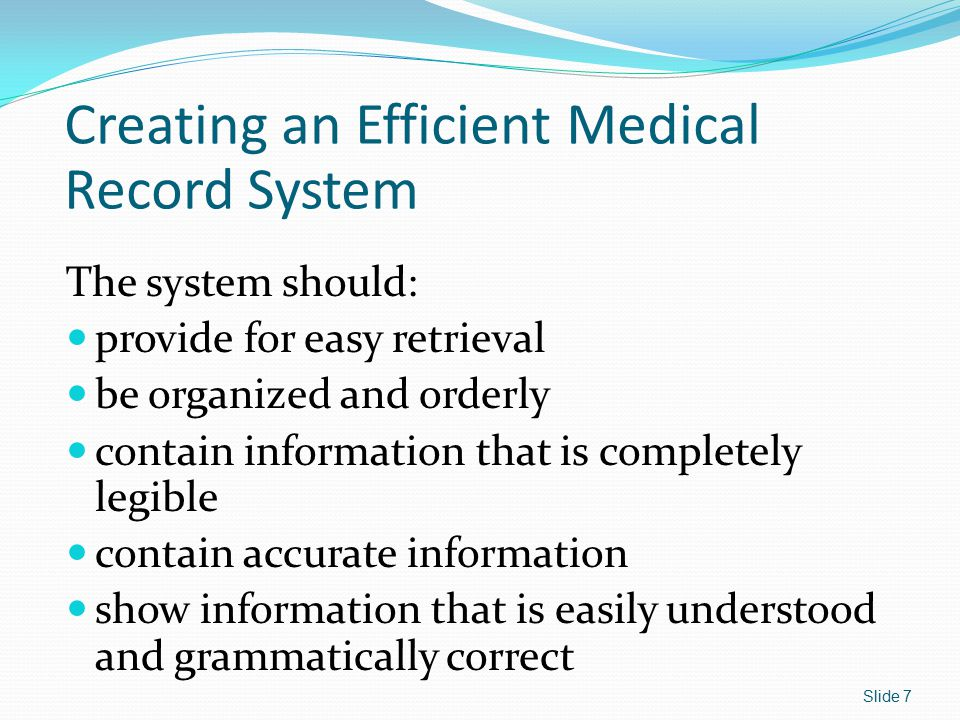 Medical Assistant's Role When Taking Patient History Take history in a physical location that ensures patient confidentiality.