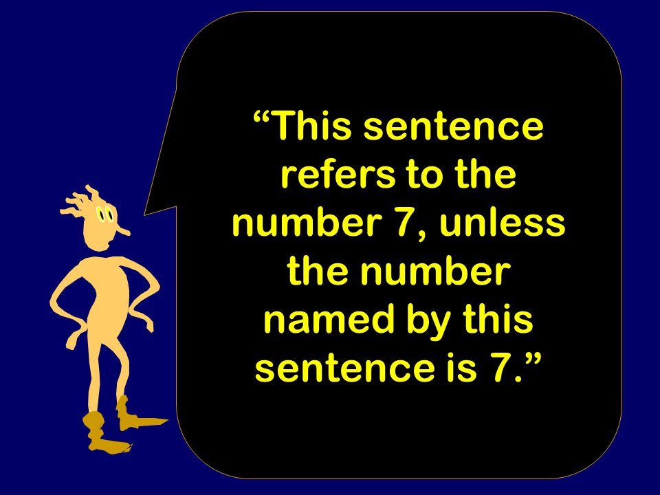 Worse: In English, there is not always a fact of the matter about whether or not a given sentence names a number.
