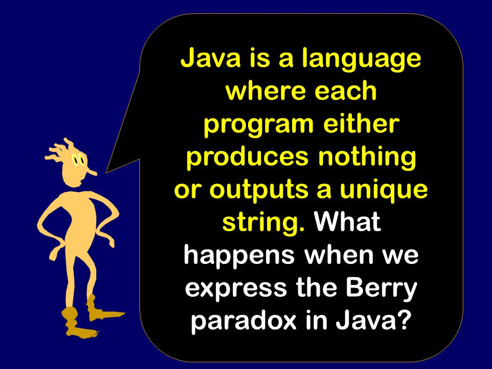 """BERRY PARADOX: """"The smallest natural number that can't be named in less than fourteen words."""""""