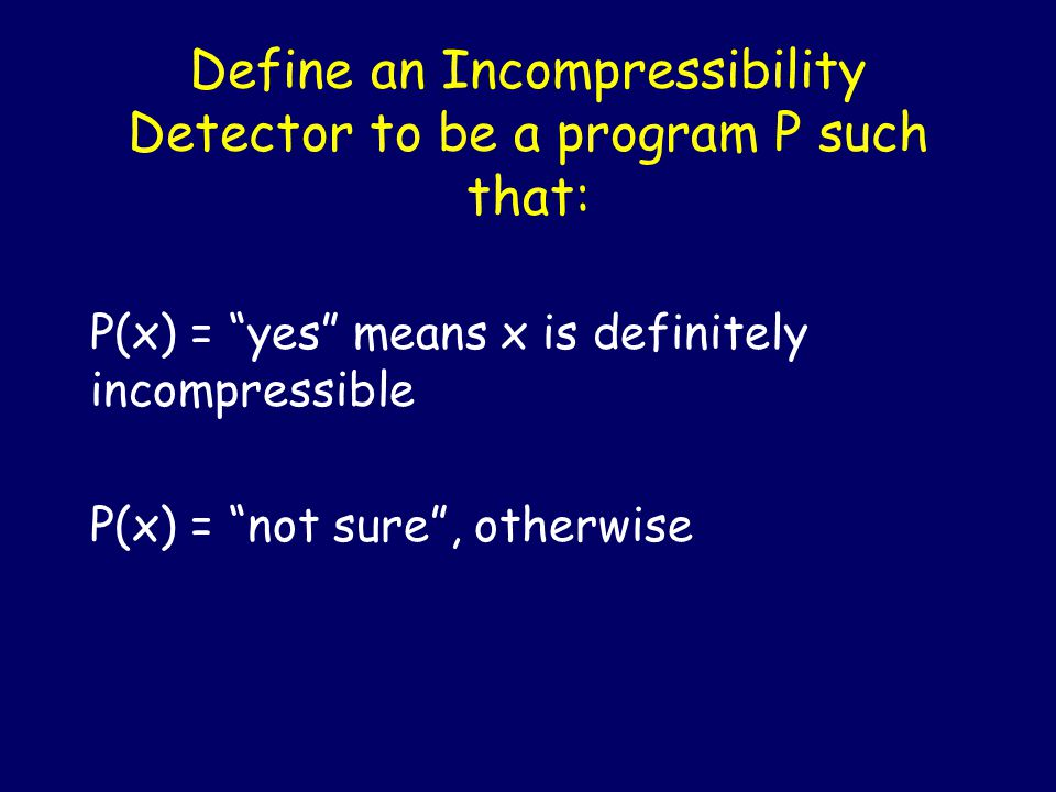 Java Berry The shortest incompressible string that this program can certify is longer than this program
