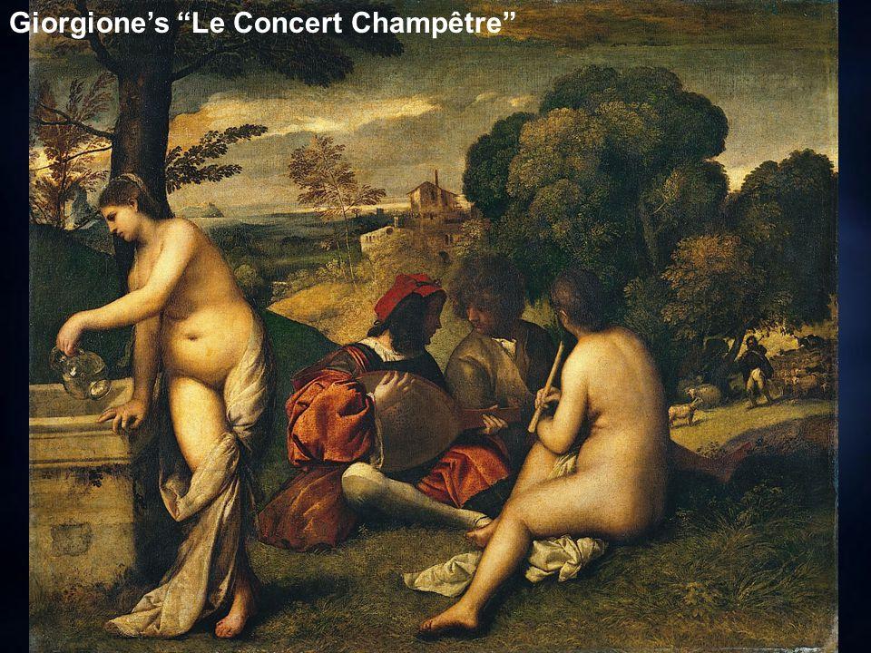 Giorgione's Le Concert Champêtre