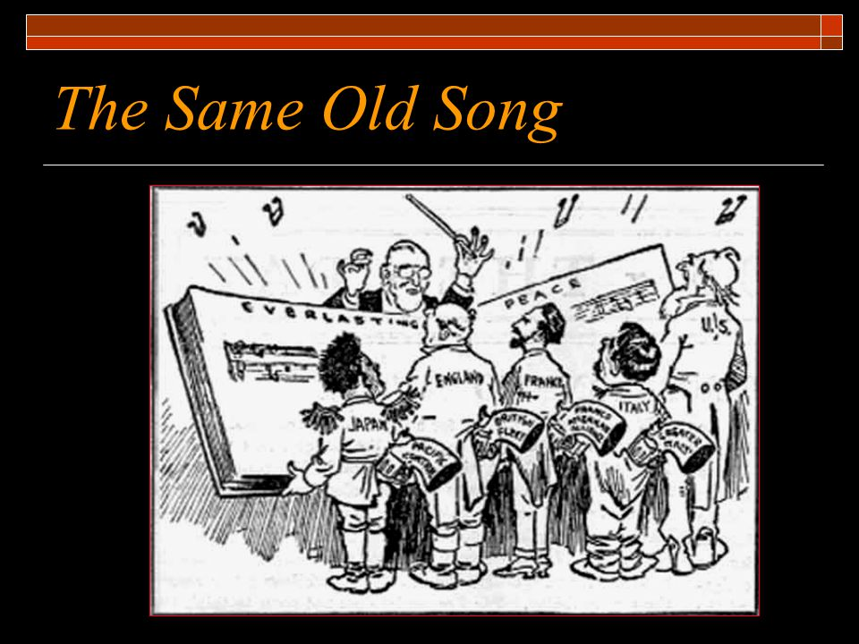 The Same Old Song