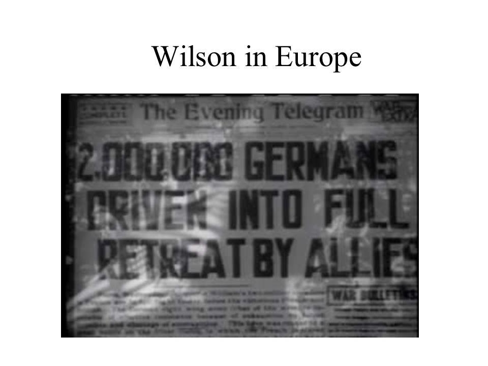 Wilson in Europe