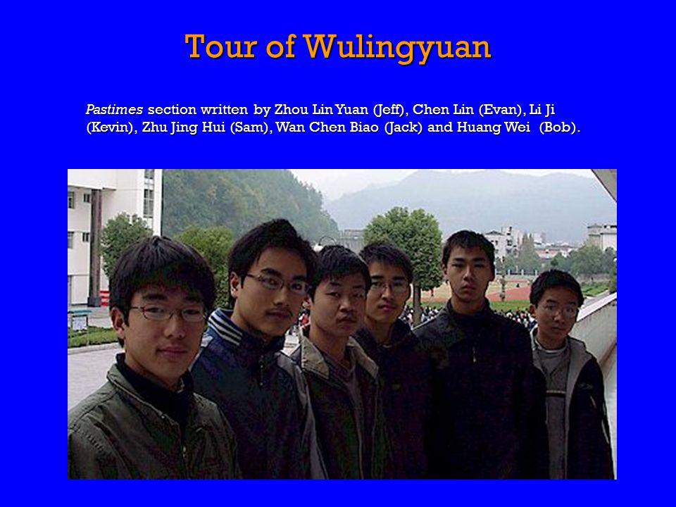 Pastimes section written by Zhou Lin Yuan (Jeff), Chen Lin (Evan), Li Ji (Kevin), Zhu Jing Hui (Sam), Wan Chen Biao (Jack) and Huang Wei (Bob).