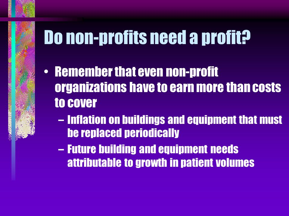 Cost reimbursement incentives If a hospital receives an excess of 6% over costs, how does it increase its profit .