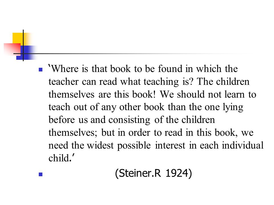 ' Where is that book to be found in which the teacher can read what teaching is.