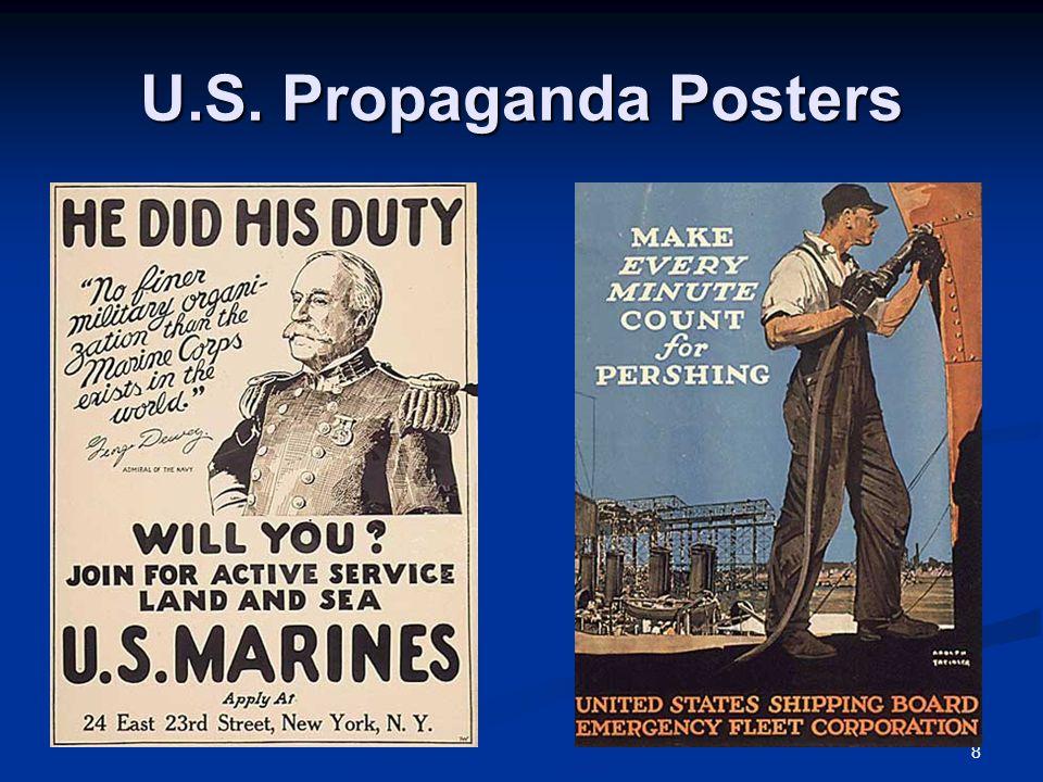 8 U.S. Propaganda Posters