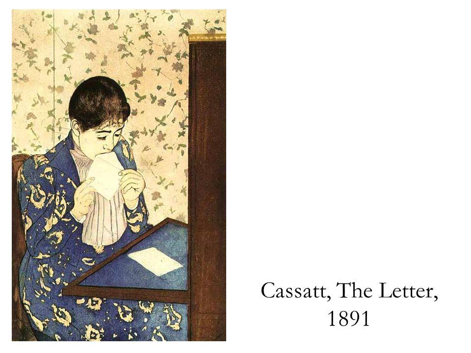 Cassatt, The Letter, 1891